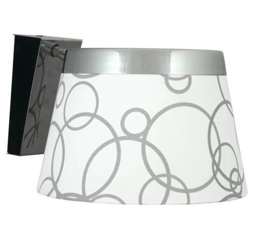 Lampa Ścienna Kinkiet Candellux Impresja 21-46478 E27 Biały Chrom