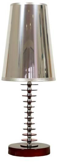 Lampa Stołowa Candellux Fundi 41-14535 E27 Czerwona