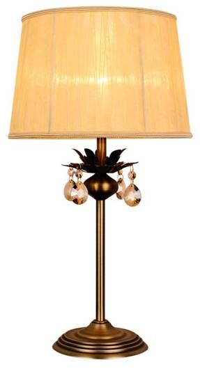Lampa Stołowa Gabinetowa Candellux Adonis 41-27535 E27 Patyna