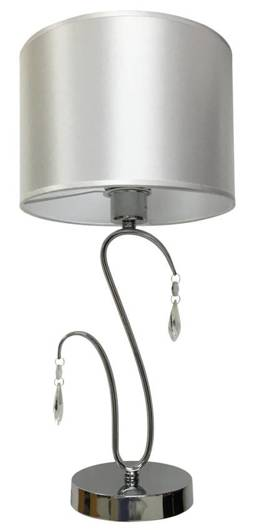 Lampa Stołowa Gabinetowa Candellux Carmen 41-40602 E27 Chrom