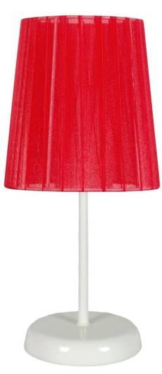 Lampa Stołowa Gabinetowa Candellux Rifasa 41-25296 E14 Czerwona