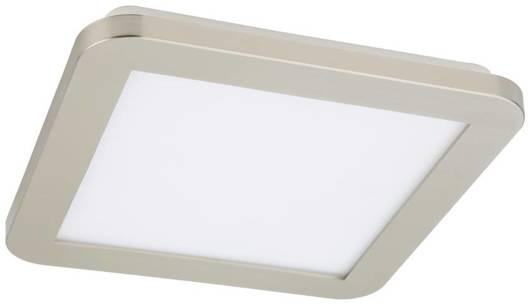 Lampa Sufitowa Candellux Nexit 10-66824 Plafon 12W Led Ip44 Satyna+Biały 3000K