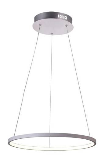 Lampa biała LED ring wisząca okrągła 18W 4000K Lune Candellux 31-64639