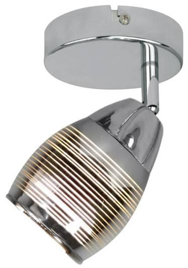 Lampa kinkiet 1X10W E14 LED chrom MILTON 91-58904