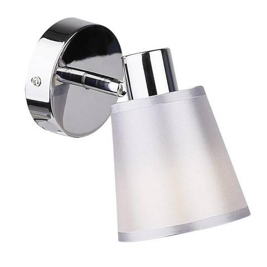 Lampa ścienna kinkiet 1X40W E14 chrom PIN 91-70814