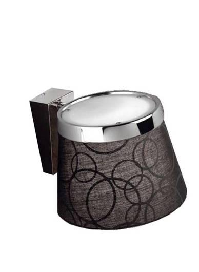 Lampa ścienna kinkiet 1X60W E27 czarny chrom IMPRESJA 21-46324