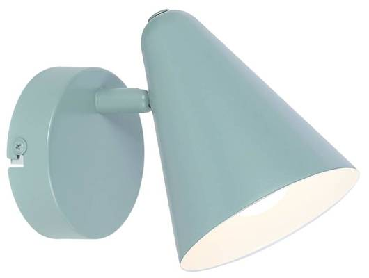 Lampa ścienna kinkiet szary mat 1X40W E14 AMOR 91-63342
