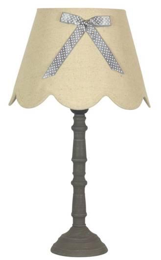 Lampa stołowa gabinetowa lniana 60W E27 Vibu 41-28365