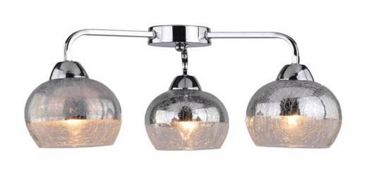 Lampa sufitowa lustrzana bite szkło chrom 3x60W Cromina Candellux 98-55651