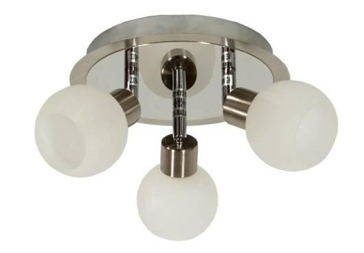 Lampa sufitowa plafon 3X40W G9 satyna chrom ALABASTER 98-07025