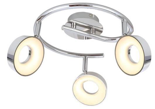 Lampa sufitowa spirala 3X4W LED chrom 3000K ISLA 98-61737