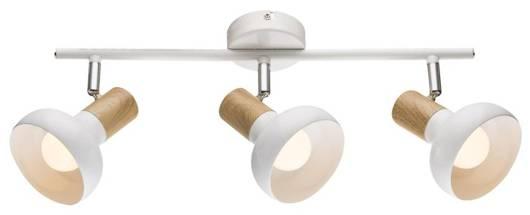 Lampa sufitowa wisząca listwa 3X40W E14 biały PUERTO 93-62673